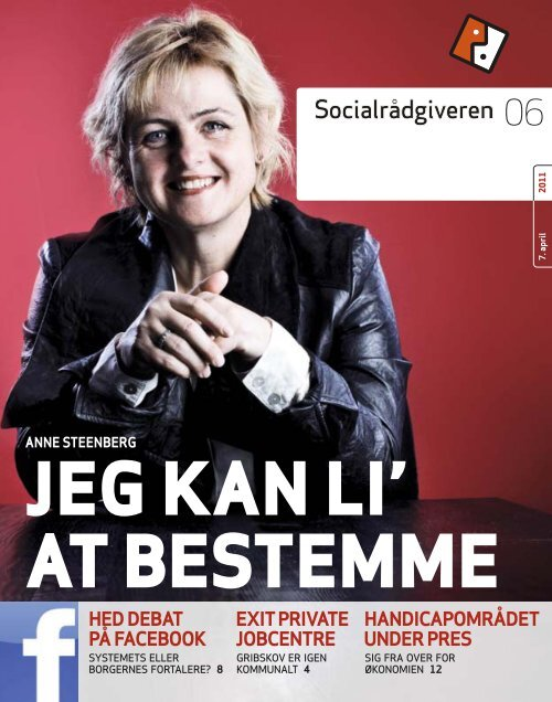 Socialrådgiveren nr. 6-2011 - Dansk Socialrådgiverforening