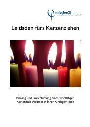 Leitfaden Kerzenziehen SCREEN - Mission 21