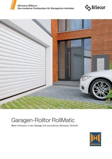 automatik schiebet ren ad 100 h rmann kg. Black Bedroom Furniture Sets. Home Design Ideas