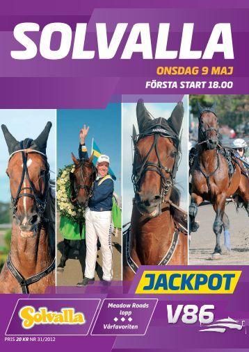 ONSDAG 9 MAJ - Solvalla