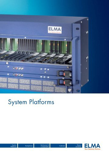 System Platforms - Elion