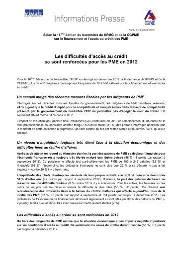 Lire - CGPME Paris Ile de France