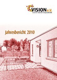 Jahresbericht 2010 - VISION eV