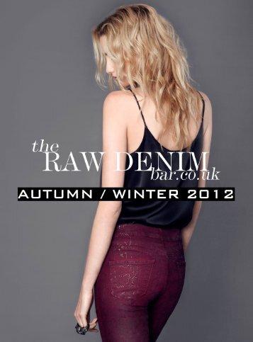 The Raw Denim Bar AW 2012 Loobkook
