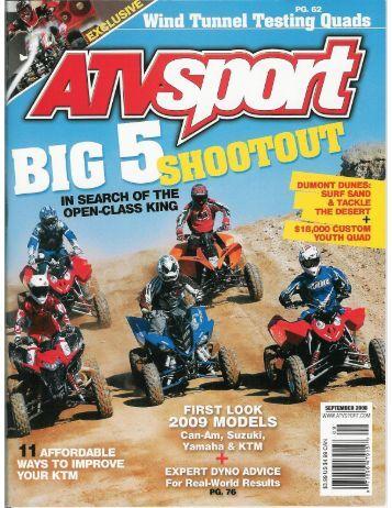 ATV Sport Sept. - Teixeira Tech