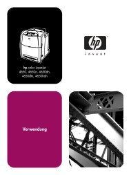 HP Color LaserJet 4650 series printer User Guide-DEWW