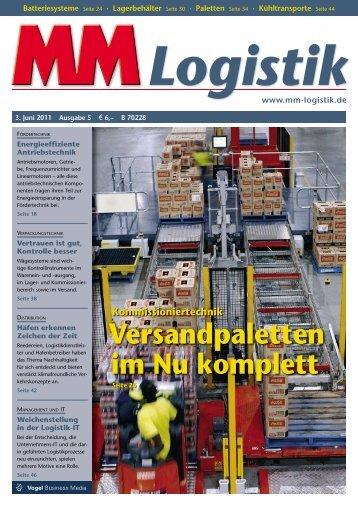 7. 10. 2011 Brno - MM Logistik - Vogel Business Media