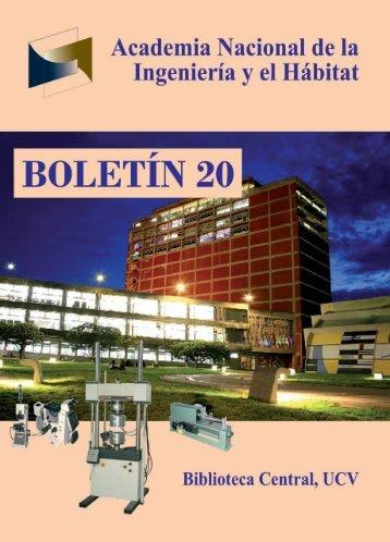 Clic Aquí [ 1,05Mb] - Academia Nacional de la Ingeniería y el Hábitat