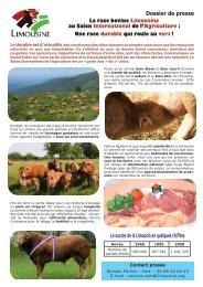 Le succès de la Limousin en quelques chiffres - Limousine.org