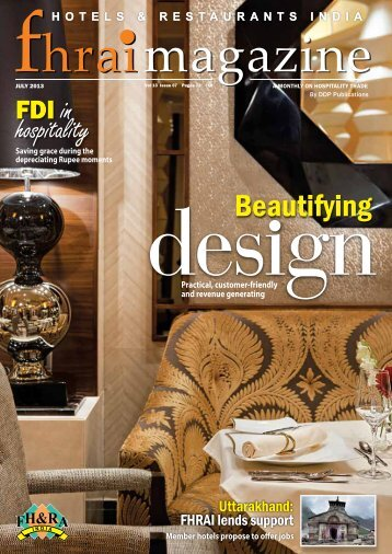 Beautifying - Federation of Hotel and Restaurant Associations of India