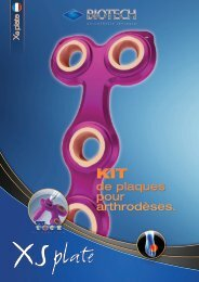 XS Plate - Biotech ortho