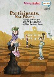 1 Participants, Not Pawns - Children in Scotland
