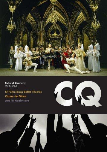 Winter 08 - Cultural Quarterly Online