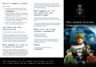 Essential Guide fo the Armed Forces Compensation Scheme