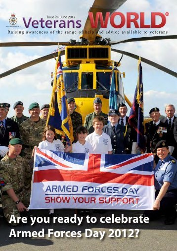 Veterans World article June 2012 PDF - Ministry of Defence