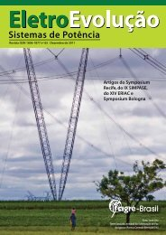 Veja a Capa desta edição - Cigré-Brasil