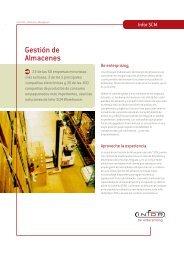 Gestión de Almacenes - Logismarket, el Directorio Industrial