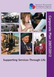 Corporate Services - Ministry of Defence