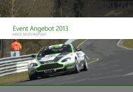Kunden & Partner Events Incentive Reisen mit - ARED Motorsport