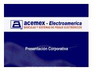 Básculas Acemex-Electroamerica - Logismarket, el Directorio ...
