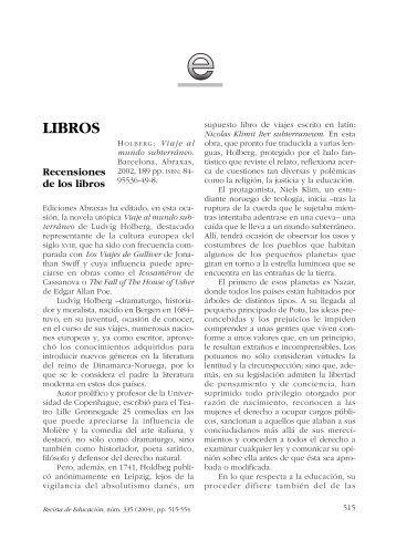 LIBROS - Ministerio de Educación, Cultura y Deporte
