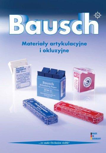 Katalog Bausch - Marrodent
