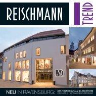 das trendhaus am Blaserturm NEU in RavensbuRg ... - Reischmann