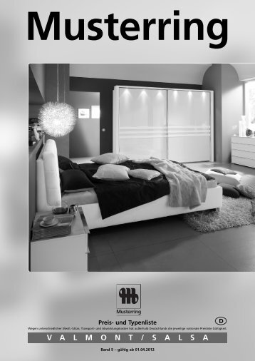 VALMONT / SALSA Musterring - Möbel Rulfs