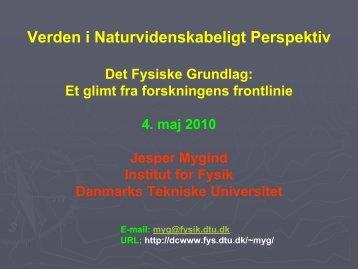 Flux quantization - Danmarks Tekniske Universitet