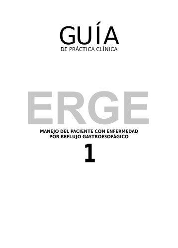 Guía de Práctica Clínica. Manejo del Paciente con ... - AGEFEC