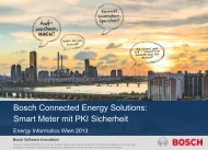 Smart Metering Plattform mit PKI Security - Energieinformatik 2013