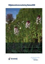 Miljøkonsekvensvurdering Natura2000 - Grontmij