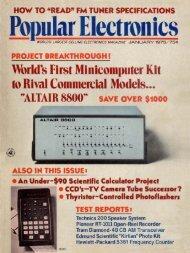 Bopular Electronics