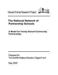 Download a PDF of this case study - Harvard Family Research Project