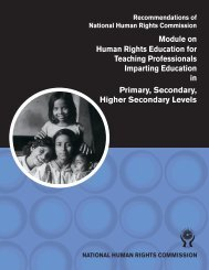 Human Rights Education for Teaching Professionals ... - BHRC