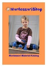 Montessori-Shop Katalog als PDF