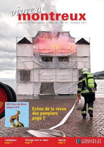 Echos de la revue des pompiers page 7 - Commune de Montreux