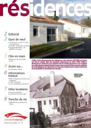 Résidences n°15.pdf - Vendée Habitat