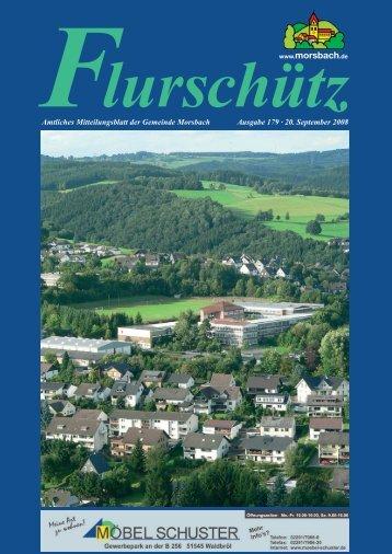 Ausgabe 179 vom 20.09.2008 - Gemeinde Morsbach