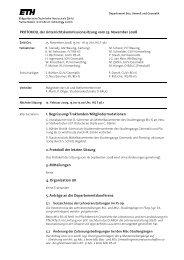 Sitzung 4/08 vom 25.11.08 - Departement Bau, Umwelt und Geomatik