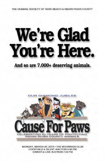 clicking here - Humane Society of Vero Beach & Indian River County