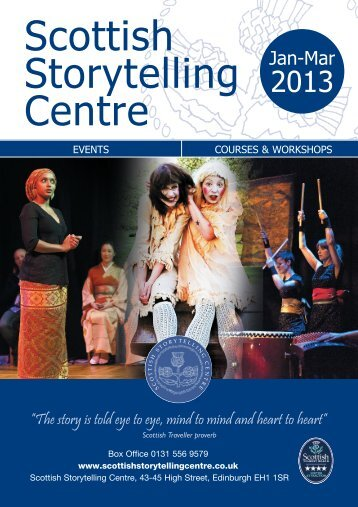 Events Jan-Mar 2013 - Edinburgh UNESCO City of Literature