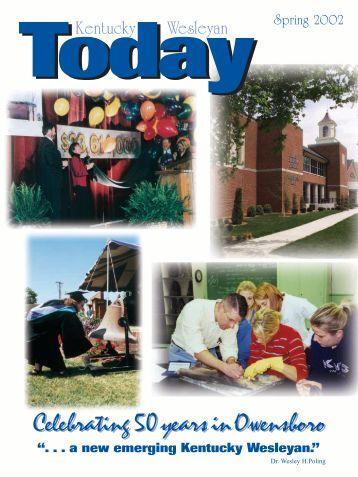 Spring 2002 - Kentucky Wesleyan College