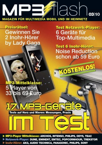 17 MP3-Geräte - mp3 Flash