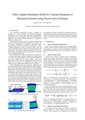 Fully Coupled Simulation Model for Transient Response of ... - JSST