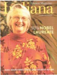 Indiana University Alumni Magazine - Nomadderwhere