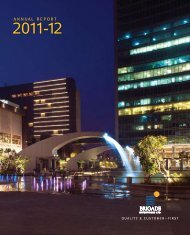 The Annual Report 2011-12 - Brigade Group