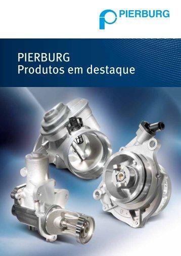PIERBURG Produtos em destaque - MS Motor Service