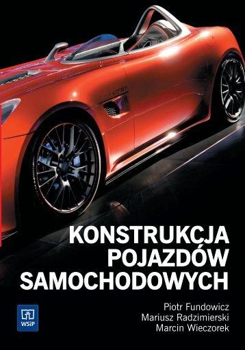 konstrukcja pojazdów samochodowych - Sklep Internetowy WSiP