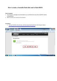 How to Flash the AMI BIOS On A Shuttle Barebone From Windows 7